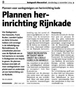 28 november 2014 - Bodegraafs Nieuwsblad